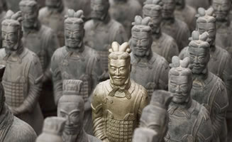 Guerreros de Terracota en China