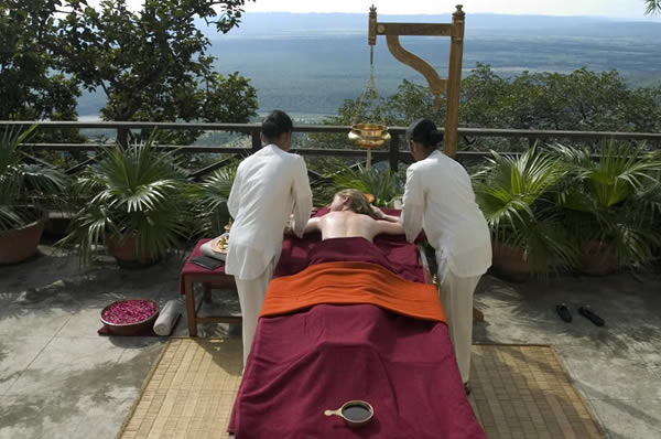Ananda Spa in the Himalayas, Wellness y ayurveda en India